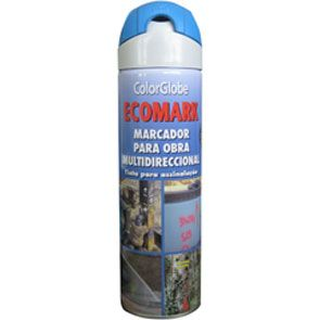 SPRAY MARCADOR ECOMARK AZUL 500ML