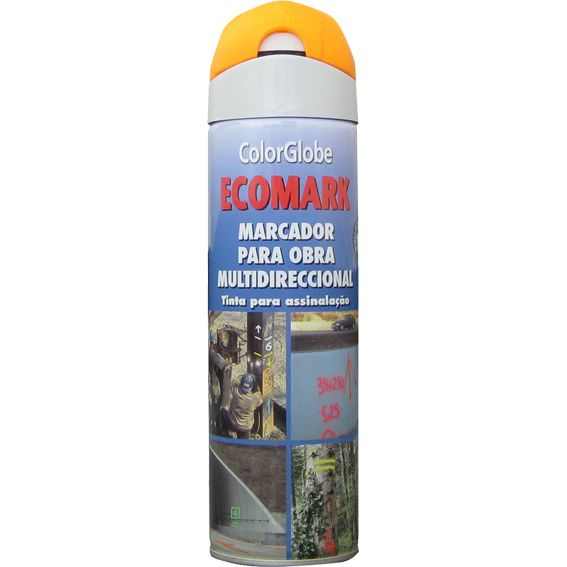 SPRAY MARCADOR ECOMARK NARANJA 500ML